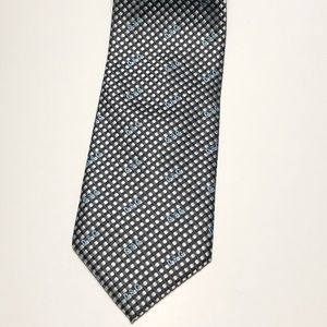 Dolce and Gabbana D&G Black Squares Neck Tie